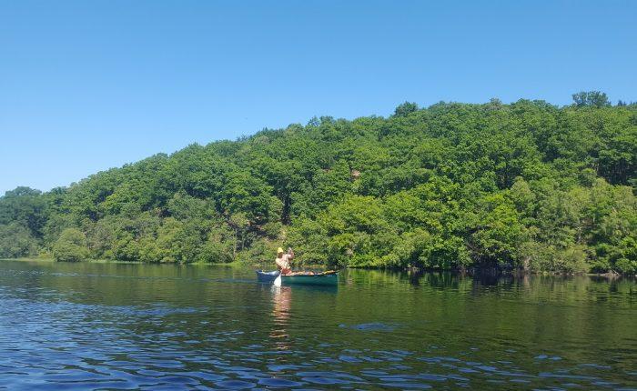 Canoe Ecosse rivière Spey